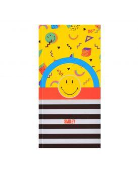 Блокнот 10х20 см, 64 л., в клетку, обл. неон + матовая лам. + софт тач, 7БЦ «Smiley» ТМ YES