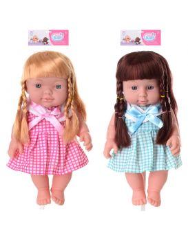 Кукла 28 см, на батарейке, звук, в ассортименте, в пакете 2137х7 см