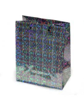 Пакет подарочный, голограмма 18 х 23 х 10 см, в ассортименте