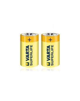 Батарейка VARTA 2020, R20, Superlife 1x2