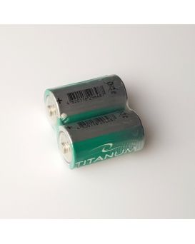 Батарейка Titanum R20 коробка 1х2 шт.