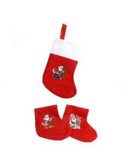 Носок «Новогоднее украшение. Дед мороз» 17х37 см