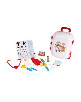 Набор «Доктор» медицинские инструменты, в чемодане, ТМ Технок