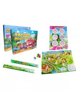 Игра настольная «Фургончик из мороженым» укр., в коробке 42х30х4,5 см, ТМ Стратег