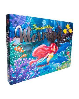 Игра настольная «Путешествие Mermaid» укр., в коробке 42х30х4,5 см, ТМ Стратег