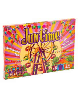 Игра настольная «JunTime» укр., в коробке, 37х25,5х2 см, ТМ Стратег
