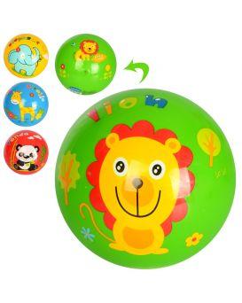 Мяч детский, 9 дюймов, с рисунком, ПВХ, 85 - 95 гр., в ассортименте, в пакете
