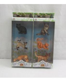 Набор «Котиков» 3 шт., в ассортименте, в коробке 11х5х29 см