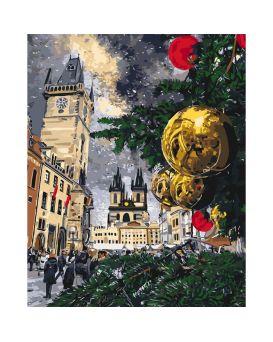 Набор для росписи по номерам «Рождественские каникулы» 40 х 50 см