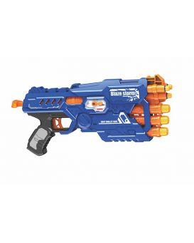 Бластер, стреляет поролоновыми снарядами, в коробке 48х23х5 см