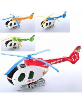 Вертолет 29 см, заводной, подвижные лопасти, в ассортименте, в пакете 29х10х7 см