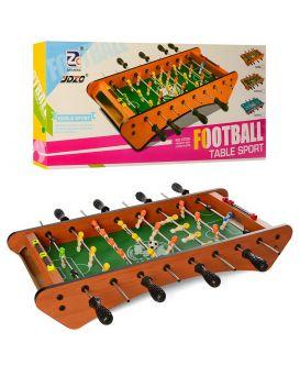 Футбол деревянный на штангах 48х27 см, мячи 2 шт., шкала ведения счета, в кор. 62х28х7 см