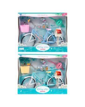 Велосипед для куклы, в ассортименте, в коробке 31х6,5х25 см