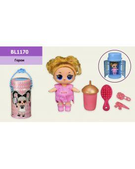 Игровой набор «Bela Dolls» кукла 14 см в капсуле 25 см, на бат., свет, музыка, кор.15,5х15,5х28,5 см