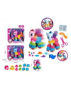 Герои мультфильма «My Little Pony» на бат., свет, музыка, аксессуары, в ассортименте, 24х9,5х26,5 см