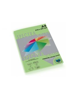 Бумага цветная А4 100 листов, 80 гр/м2, пастель светло зеленая «Lagoon 130» SPECTRА COLOR