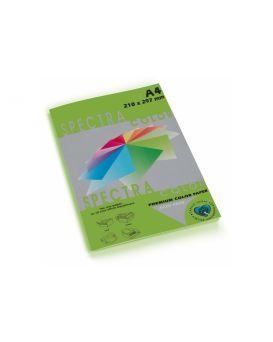 Бумага цветная А4 100 листов, 160 гр/м2, интенсив зеленая «Parrot 230» SPECTRА COLOR