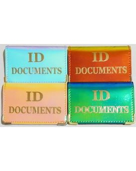 Обложка на документ «ID Passport» хамелеон 135 х 96 мм