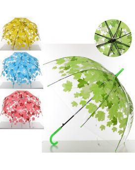 Зонтик детский длина 68 см, трость 61 см, диаметр 72 см, спица 48 см, в ассортименте
