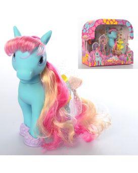 Герои мультфильма «My Little Pony» 16 см, расческа, заколочки, наклейки, в коробке 25,5х22,5х8 см