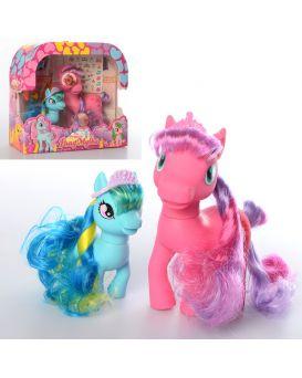Герои мультфильма «My Little Pony» 16 см, расческа, заколочки, наклейки, маска, кор. 25,5х22,5х8 см
