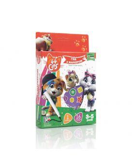 Игра настольная Vlady Toys 44 Котенка от 3 до 5 лет