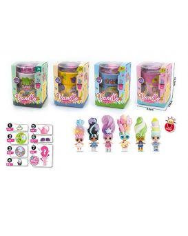 Игровой набор «Vanilla Surprise» поливай и выращивай куклу, в ассортименте, в коробке 13,2х9,6х9,6см