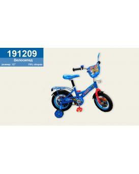 Велосипед детский 2-х колесный 12 дюймов «Paw Patrol » со звонком, зеркалом, без ручного тормоза