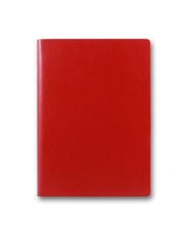 Ежедневник недатированный 144 л., 128 х 203 мм, с ручкой «Frankfurt» красный, закругленные углы