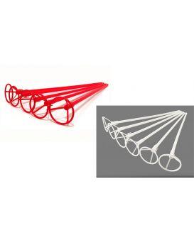 Держатели палочки для воздушных шаров 50 см, в ассортименте