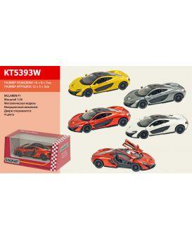 Автомобиль металлическая KINSMART «MCLAREN P1» двери открываются, в ассортименте, в кор. 16х8х7,5 см