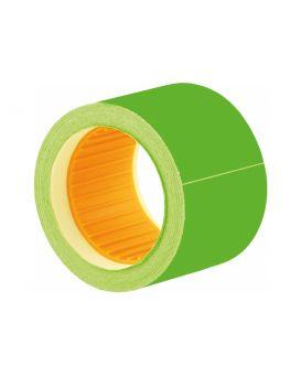 Этикетки - ценники, 50 х 40 мм, 100 шт. в рулоне, зеленые.