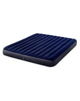 Матрас надувной Intex 183х203х25 см синий