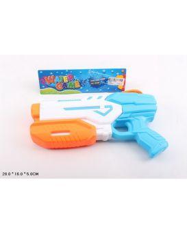 Водный пистолет с насосом, в пакете 28х16х5 см