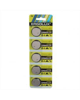 Батарейка ERGOLUX CR 2032-BP5 1 Lithium, 3V