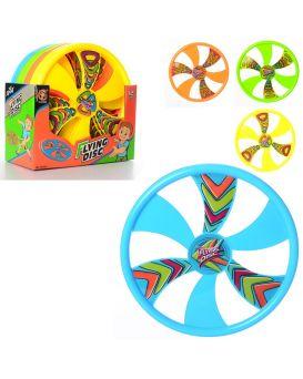 Летающая тарелка диаметр 30,5 см,12шт в ассортименте в дисплее, 31,5-31-14,5 см