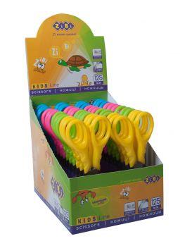 Ножницы детские 12,5 см «FANTASY» в ассортименте, в картонном дисплее
