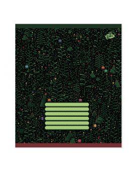 Тетрадь 12 л., в клетку Brisk «Пиксель-арт» №2013