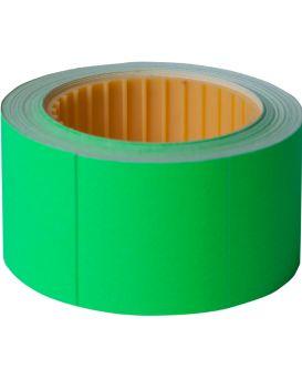 Ценник 30*40мм, (150шт, 4.5 м), прямоугольный, внешняя намотка, зеленый