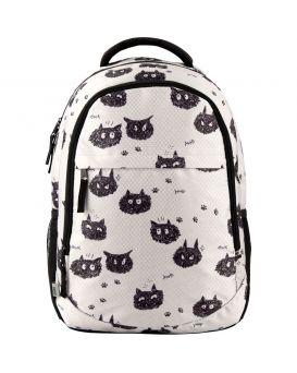 Рюкзак GoPack Education 131-1 Black cats