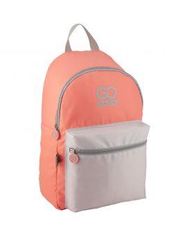 Рюкзак городской Kite GoPack Сity 44х28х13 см, вес 250 гр., объем 17 л., цвет: персиковый с розовым