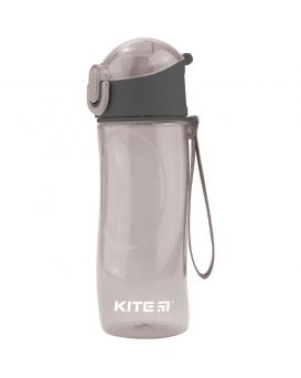 Бутылочка для воды, 530 мл, серая