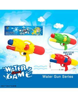 Водяной пистолет с насосом, в ассортименте 16, 5*33, 8*6, 8 см