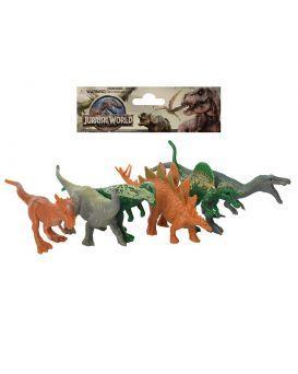 Динозавры 6шт, от 8см, в ассортименте, в кульке, 16-15-3см