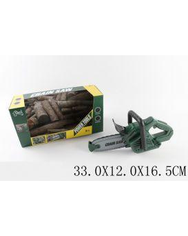 Бензопила звук, игрушка 30 см, в коробке 33х12,5х16,5 см