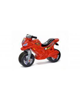 Толокар «Мотоцикл» с сигналом, 2-х колесный, красный