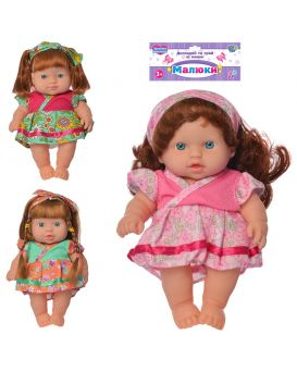 Кукла 21см, в ассортименте, в пакете 19х31х6 см