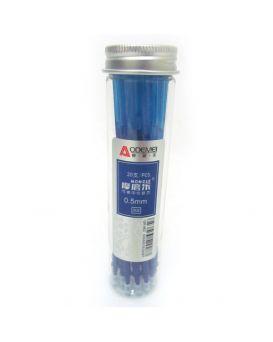 Ампула до ручки пиши - стирай, синяя, 0,5 мм., 126 мм.