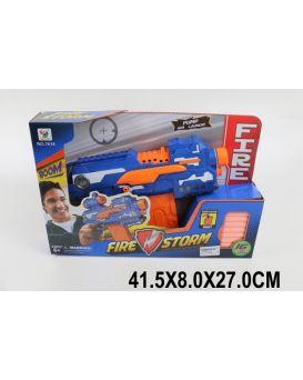 Бластер с поролон. снарядами, в коробке 41,5х8х27 см