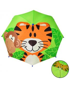 Зонтик детский длина трости 60 см, диаметр 70 см, крепление пластиковое